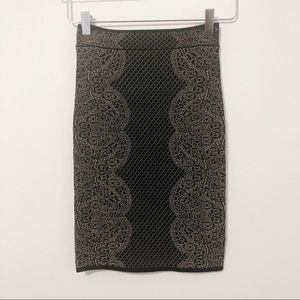BCBG Maxazria Josa Skirt Fitted